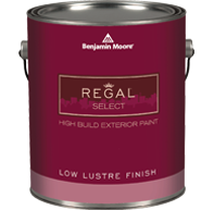 Regal® Select Waterborne Exterior Paint