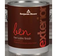 ben® Waterborne Exterior Paint